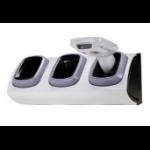 Zebra CRD-MC18-3SLCKS-01 cargador de dispositivo móvil Interior Gris