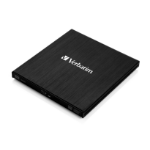 Verbatim External Slimline optical disc drive Black Blu-Ray RW