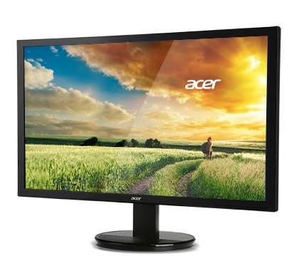 "Acer K2 K242HL LED display 61 cm (24"") Full HD Flat Black"