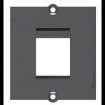 Bachmann 1 x Keystone Black socket-outlet