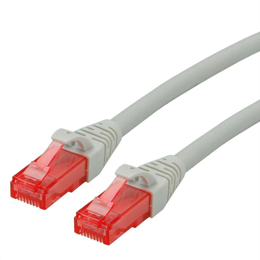 ROLINE 21.15.2940 networking cable 0.3 m Cat6 U/UTP (UTP) Grey
