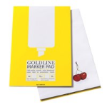 Gold Line Goldline Bleedproof Marker Pad A4 GPB1A4Z