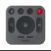 Logitech 993-001940 accesorio para videoconferencia Mando a distancia Gris