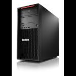 Lenovo ThinkStation P520c Intel® Xeon® W W-2223 16 GB DDR4-SDRAM 1256 GB HDD+SSD Tower Zwart Workstation Windows 10 Pro for Workstations