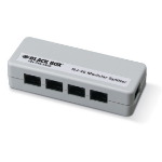 Black Box FM800-R2 network splitter Grey