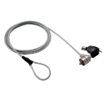 MCL 8LE-71012 cable antirrobo Metálico 1,8 m