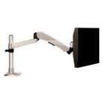 "3M MA245S flat panel desk mount 30"" Silver"