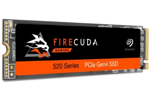 Seagate FireCuda 520 M.2 2000 GB PCI Express 4.0 3D TLC NVMe