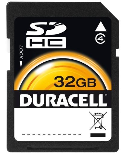 Duracell 32GB SDHC 32GB SDHC Class 4 memory card