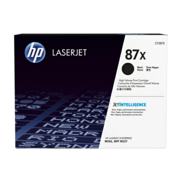 HP CF287X (87X) Toner black, 18K pages