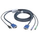 Black Box EHN428-0016 KVM cable 4.8 m Grey
