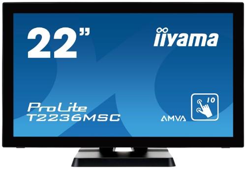 "iiyama ProLite T2236MSC-B2 21.5"" 1920 x 1080pixels Multi-touch touch screen monitor"