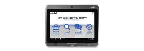 "Zebra CC5000-10 25.6 cm (10.1"") 1280 x 800 pixels Touchscreen 1.5 GHz OMAP4470 All-in-one Black,Grey"