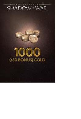 Microsoft Middle-Earth: Shadow of War 1000 (+50 Bonus) Gold, Xbox One