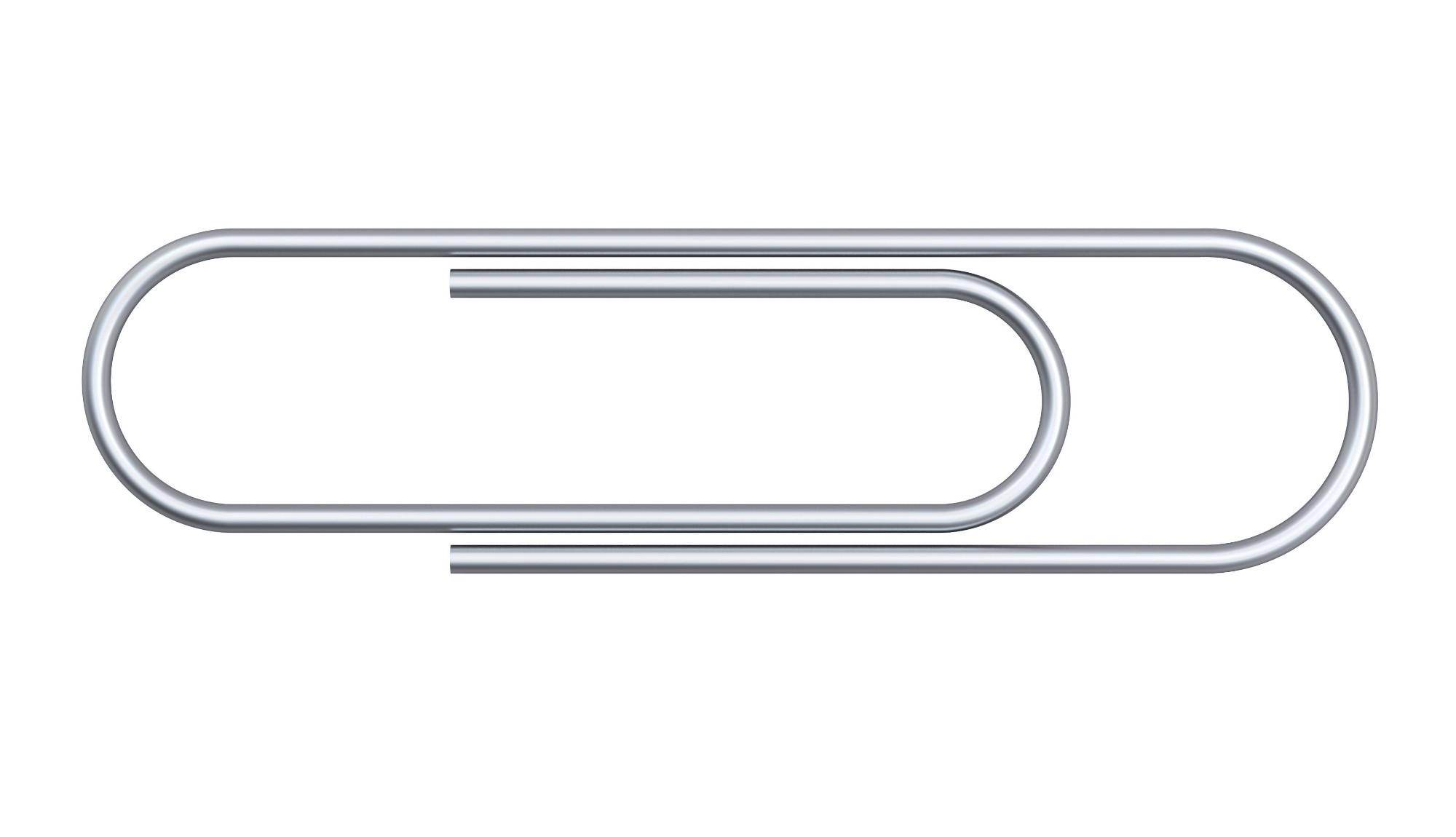 Whitecroft Essentials Value Paperclip Small Plain 22mm PK 1000