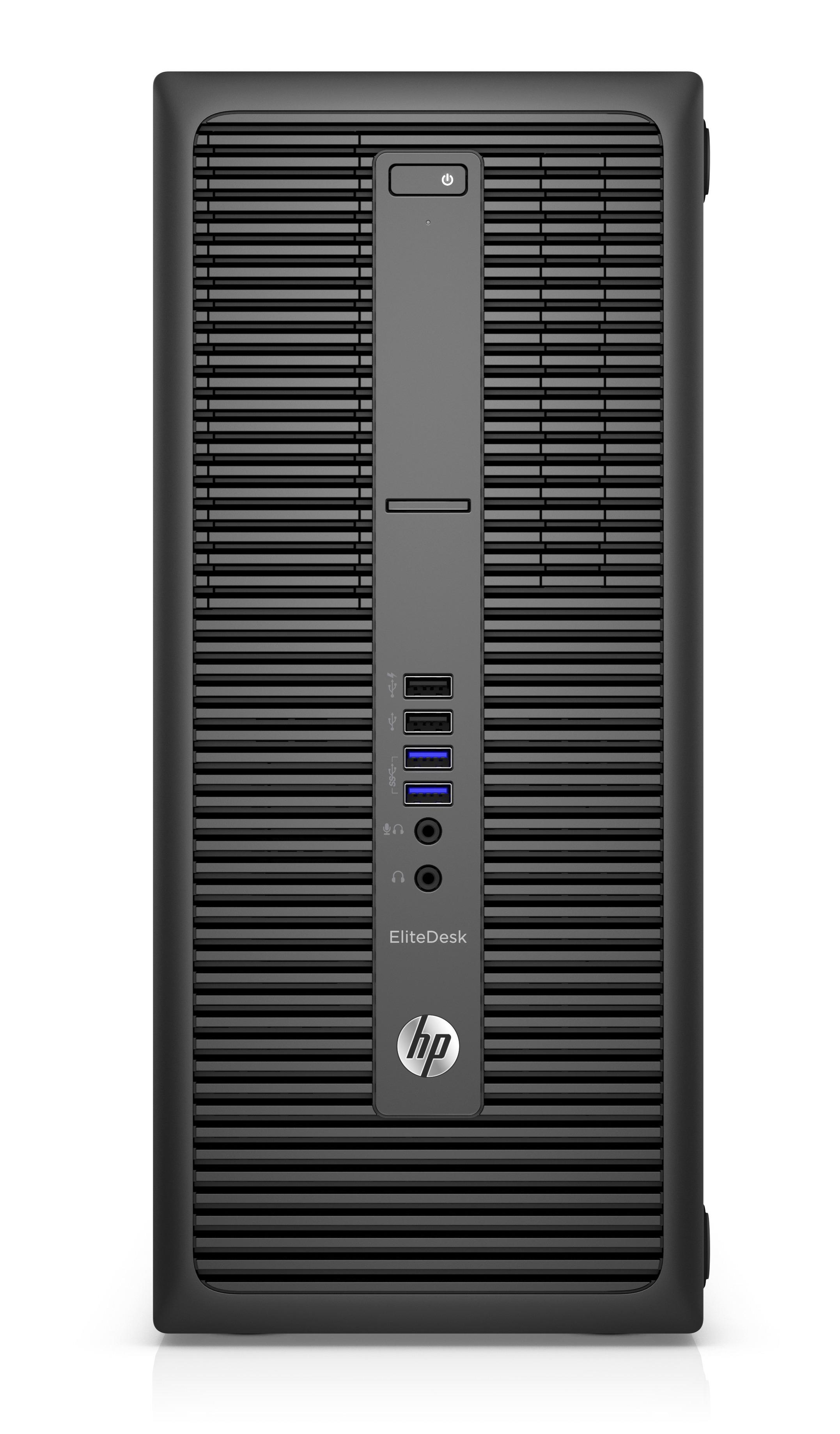 HP EliteDesk 800 G2 MT 3.2GHz i5-6500 Micro Tower Black