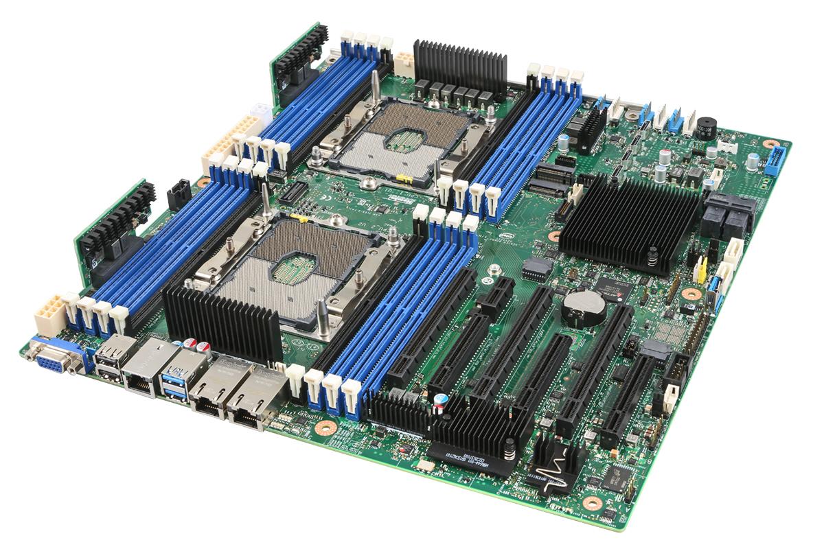 Intel S2600STBR server/workstation motherboard Intel® C624