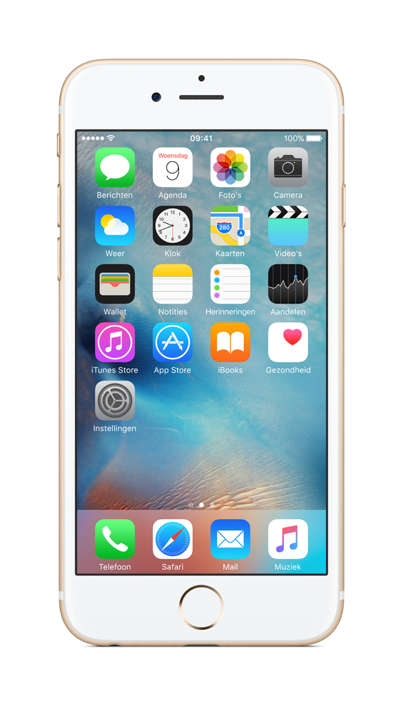 Apple iPhone 6s Single SIM 4G 32GB Gold smartphone