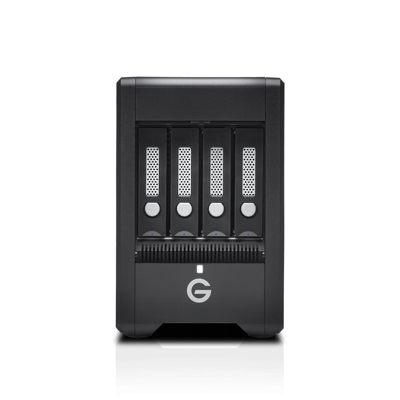 G-Technology G-SPEED Shuttle unidad de disco multiple 56 TB Escritorio Negro
