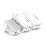 TP-LINK TL-PA4010 + 2x TL-WPA4220 500 Mbit/s Ethernet Wifi Blanco