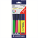 Staedtler Textsurfer Classic Highlighter PK3 Plus 1 Free