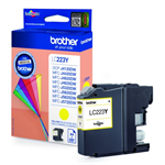 Brother LC-223Y Ink cartridge yellow, 550 pages, 6ml LC223Y