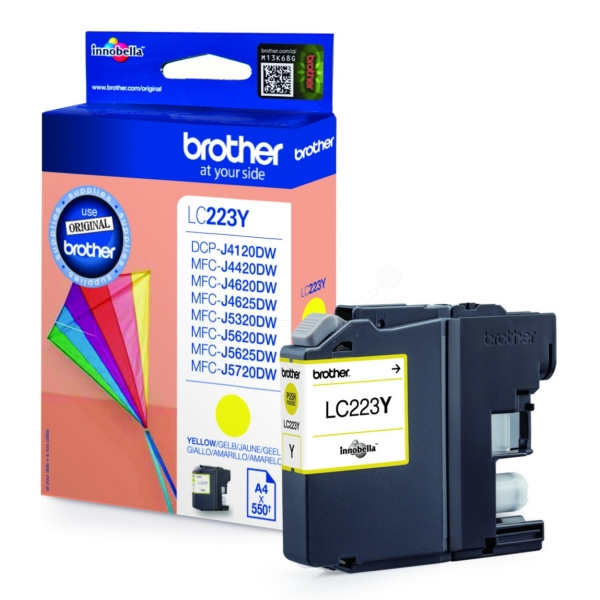 Brother LC223 YELLOW COMPATIBLE CARTRIDGE