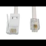 Cables Direct RJ11/BT 3m White
