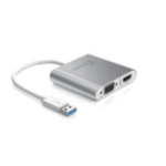 j5 create JUA360 2048 x 1152pixels Aluminium USB graphics adapter