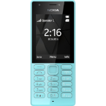 "Nokia 216 2.4"" 82.6g Blue Feature phone"
