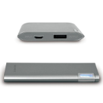 Port Designs 900112 Lithium Polymer (LiPo) 5000mAh Grey power bank