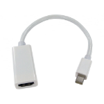 Cables Direct Mini DisplayPort to HDMI Leaded Adapter White