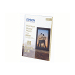 Epson Premium Glossy Photo Paper, 130 x 180 mm, 255g/m², 30 Sheets