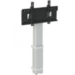 "Loxit 8430 flat panel floorstand 2.18 m (86"") Fixed flat panel floor stand Black,Silver"