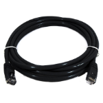 8WARE Cat6a UTP Ethernet Cable 5m Snagless Black