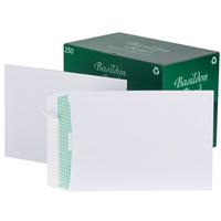 Basildon Envelopes Pocket Peel and Seal 120gsm White C4 [Pack 250]