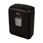 Fellowes Powershred 8C paper shredder Cross shredding 22 cm Black