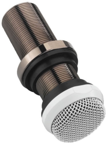 Monacor ECM-10/WS microphone Studio microphone Metallic