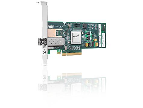 Hewlett Packard Enterprise 81B 8Gb 1-port PCIe Fibre Channel Host Bus Adapter Internal Fiber 8000Mbit/s networking card