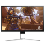 "AOC Gaming AG241QX 23.8"" Wide Quad HD LED Black, Red computer monitor"