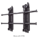 Chief FCAV1U Black flat panel wall mount