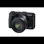 Canon EOS M3 + EF-M 18-55mm MILC 24.2MP CMOS 6000 x 4000pixels Black