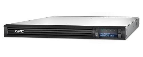 APC Smart-UPS Line-Interactive 1500VA 4AC outlet(s) Rackmount Black uninterruptible power supply (UPS)