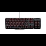 ASUS ROG Claymore USB QWERTZ German Black keyboard
