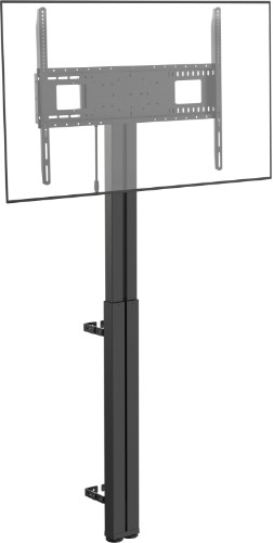 "Vision VFM-F30 flat panel floorstand 2.29 m (90"") Portable flat panel floor stand Black"