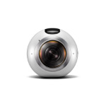 Samsung Gear 360 White 15MP 4K Ultra HD CMOS Wi-Fi 152g action sports cameraZZZZZ], SM-C200NZWABTU