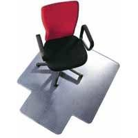 Floortex 119225LV furniture floor protector mat Transparent PVC