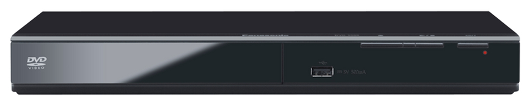 PANASONIC DVD-S500 DVD PLAYER BLACK