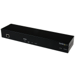 StarTech.com SV1108IPPWGB Black KVM switch