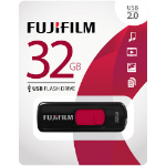 Fujifilm USB 2.0 32GB 32GB USB 2.0 Black,Red USB Flash Drive